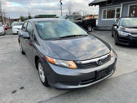 2012 Honda Civic for sale at Mass Auto Exchange in Framingham MA