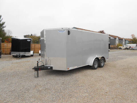 2021 Continental Cargo V-Series 7x16 for sale at Jerry Moody Auto Mart - Trailers in Jeffersontown KY