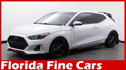 2020 Hyundai Veloster for sale at Florida Fine Cars - West Palm Beach in West Palm Beach FL
