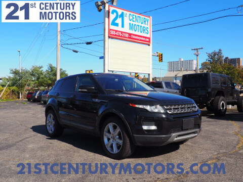 2013 Land Rover Range Rover Evoque for sale at 21st Century Motors in Fall River MA