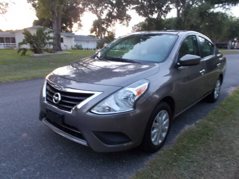 2016 Nissan Versa for sale at LANCASTER'S AUTO SALES INC in Fruitland Park FL