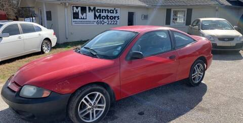 2005 Chevrolet Cavalier for sale at Mama's Motors in Greer SC