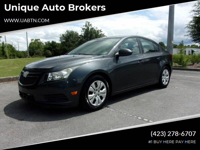 2013 Chevrolet Cruze for sale at Unique Auto Brokers in Kingsport TN