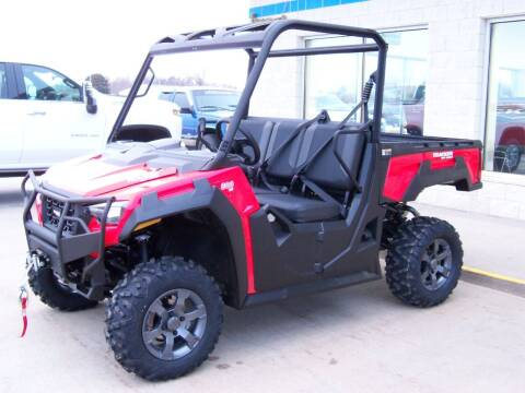 2021 TRACKER OFF ROAD 800SX LE for sale at Tyndall Motors in Tyndall SD
