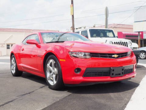2015 Chevrolet Camaro for sale at Messick's Auto Sales in Salisbury MD