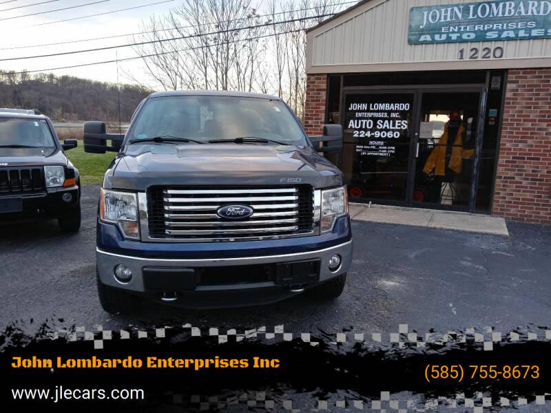 2012 Ford F-150 for sale at John Lombardo Enterprises Inc in Rochester NY