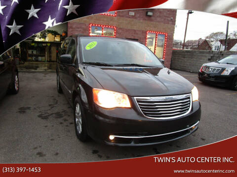 2012 Chrysler Town and Country for sale at Twin's Auto Center Inc. in Detroit MI