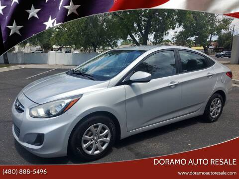 2013 Hyundai Accent for sale at DORAMO AUTO RESALE in Glendale AZ