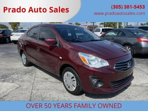2017 Mitsubishi Mirage G4 for sale at Prado Auto Sales in Miami FL