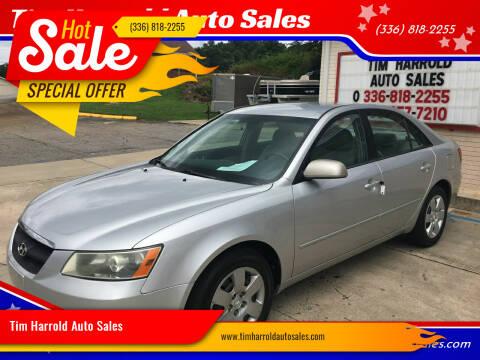2007 Hyundai Sonata for sale at Tim Harrold Auto Sales in Wilkesboro NC