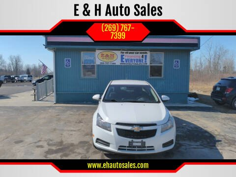 2014 Chevrolet Cruze for sale at E & H Auto Sales in South Haven MI