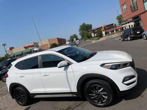 2018 Hyundai Tucson for sale at Sanaa Auto Sales LLC in Denver CO