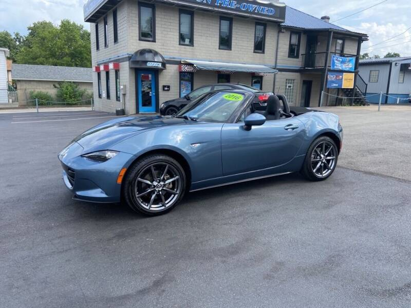 2016 Mazda MX-5 Miata for sale at Sisson Pre-Owned in Uniontown PA