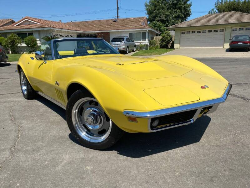 1969 Chevrolet Corvette for sale at SoCal Motors in Los Alamitos CA