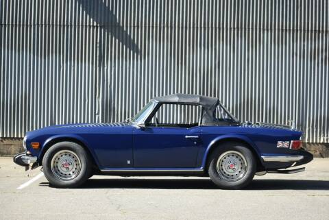 1974 Triumph TR6 for sale at Route 40 Classics in Citrus Heights CA