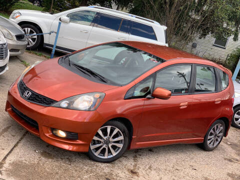 2012 Honda Fit for sale at Exclusive Auto Group in Cleveland OH