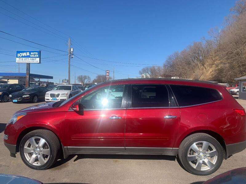 2010 Chevrolet Traverse for sale at Iowa Auto Sales, Inc in Sioux City IA