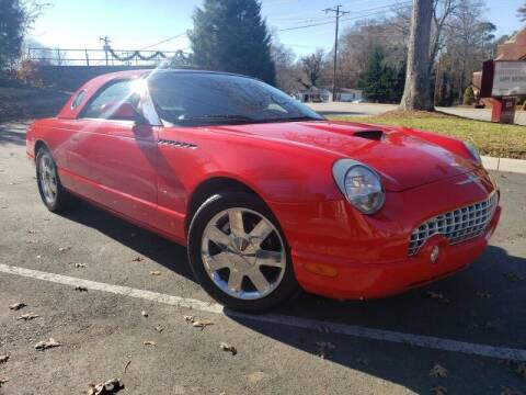 2003 Ford Thunderbird for sale at McAdenville Motors in Gastonia NC