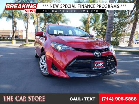 2017 Toyota Corolla for sale at The Car Store in Santa Ana CA