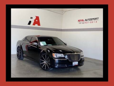 2013 Chrysler 300 for sale at Royal AutoSport in Sacramento CA
