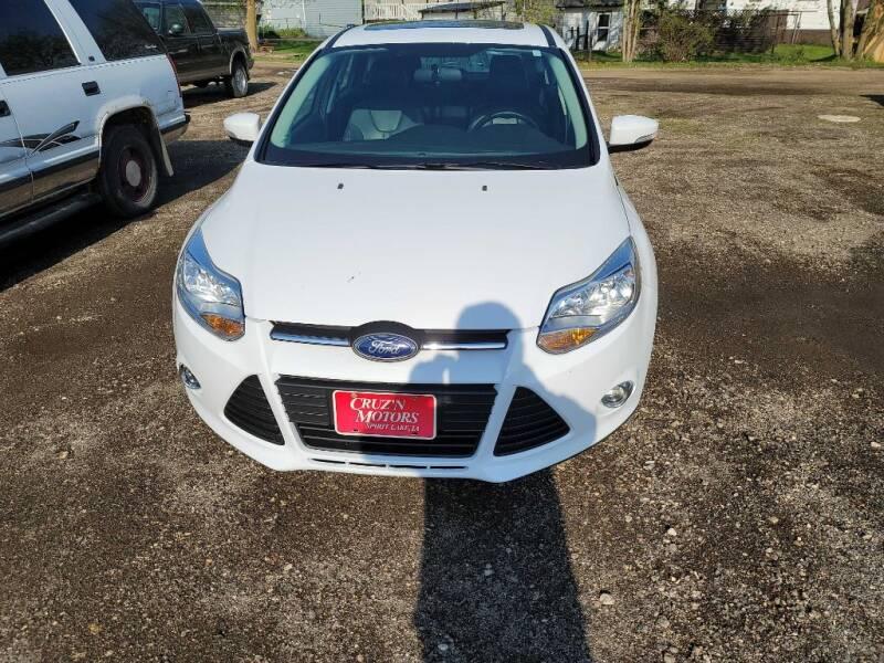 2014 Ford Focus for sale at CRUZ'N MOTORS in Spirit Lake IA