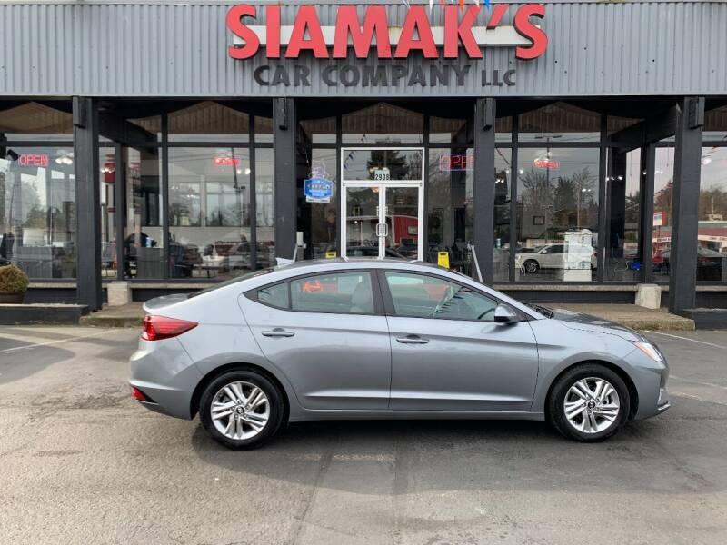 2019 Hyundai Elantra for sale at Siamak's Car Company llc in Salem OR