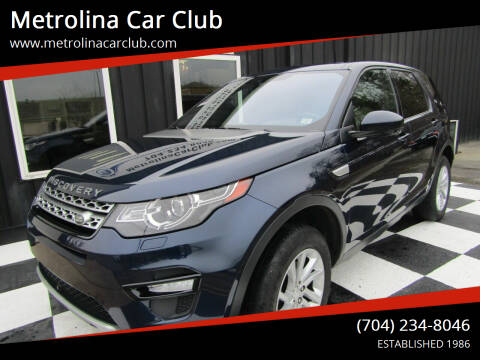 2017 Land Rover Discovery Sport for sale at Metrolina Car Club in Matthews NC