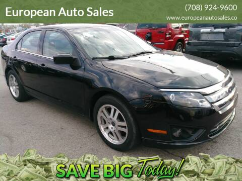 2010 Ford Fusion for sale at European Auto Sales in Bridgeview IL