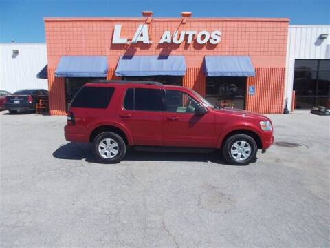 2010 Ford Explorer for sale at L A AUTOS in Omaha NE