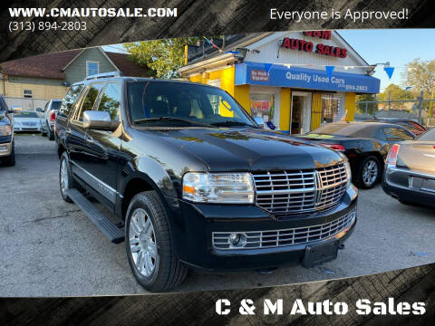 2011 Lincoln Navigator for sale at C & M Auto Sales in Detroit MI
