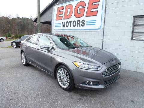 2014 Ford Fusion for sale at Edge Motors in Mooresville NC