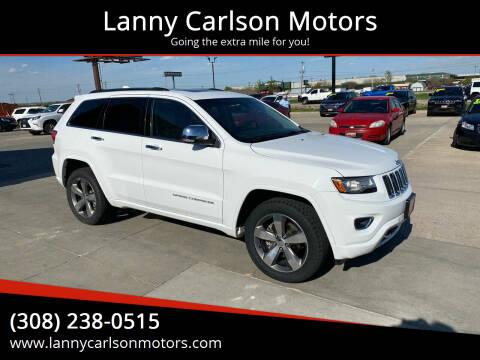 2014 Jeep Grand Cherokee for sale at Lanny Carlson Motors in Kearney NE