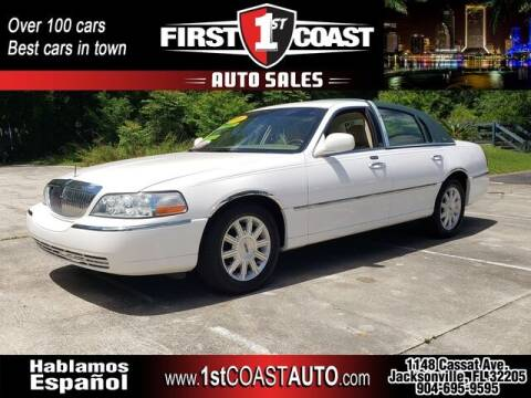 2008 Lincoln Town Car for sale at 1st Coast Auto -Cassat Avenue in Jacksonville FL