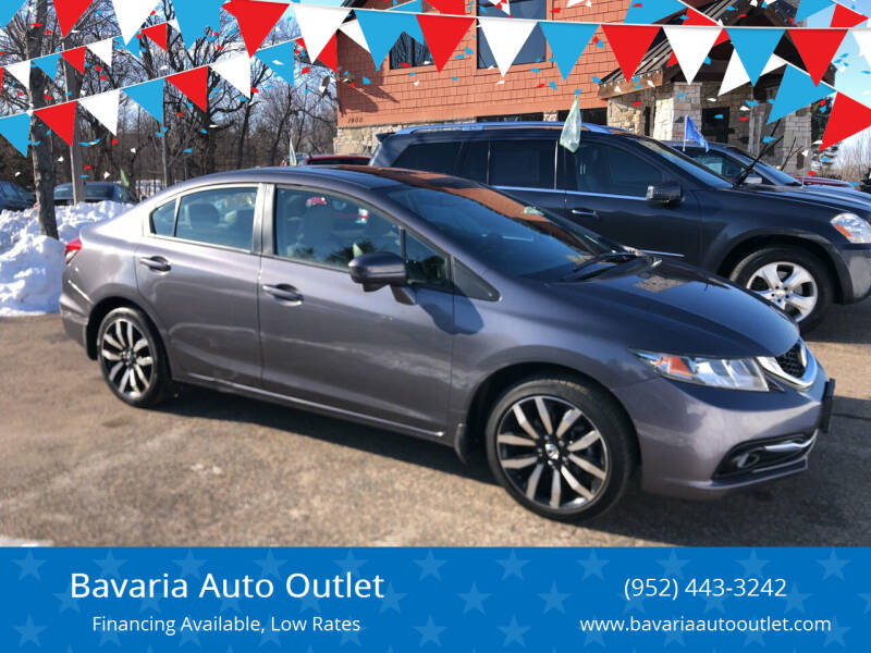 2015 Honda Civic for sale at Bavaria Auto Outlet in Victoria MN