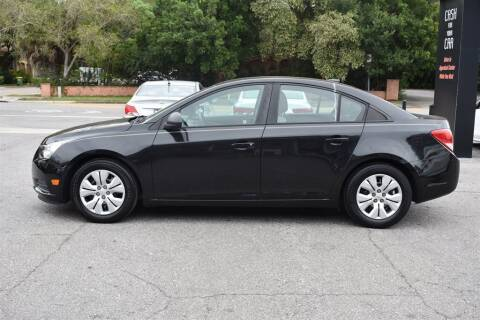 2014 Chevrolet Cruze for sale at DeWitt Motor Sales in Sarasota FL