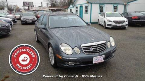 2007 Mercedes-Benz E-Class for sale at RVA MOTORS in Richmond VA