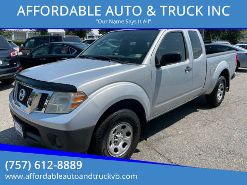 2010 Nissan Frontier for sale at AFFORDABLE AUTO & TRUCK INC in Virginia Beach VA
