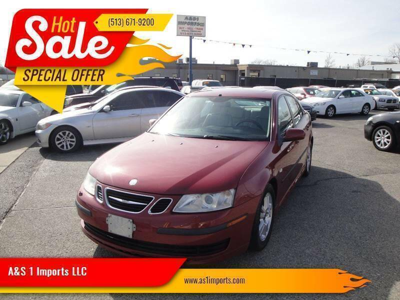 2006 Saab 9-3 for sale at A&S 1 Imports LLC in Cincinnati OH