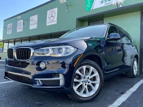 2016 BMW X5 for sale at KARZILLA MOTORS in Oakland Park FL