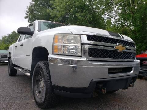 2011 Chevrolet Silverado 2500HD for sale at Jacob's Auto Sales Inc in West Bridgewater MA