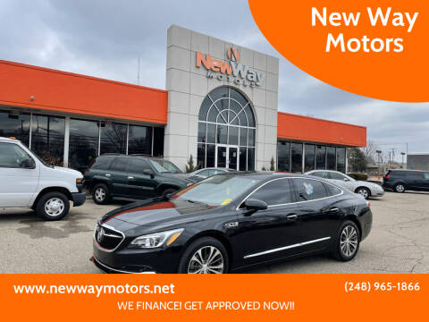 2017 Buick LaCrosse for sale at New Way Motors in Ferndale MI