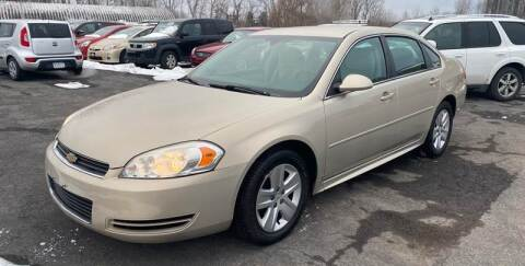 2011 Chevrolet Impala for sale at Paul Hiltbrand Auto Sales LTD in Cicero NY