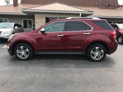 2016 Chevrolet Equinox for sale at Motors Inc in Mason MI