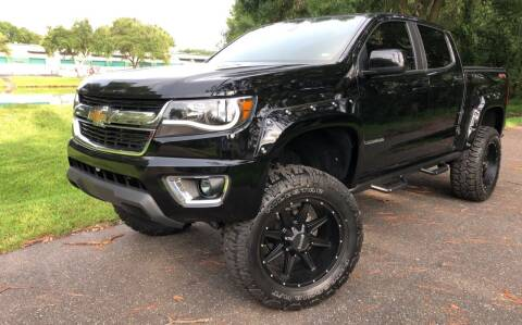 2018 Chevrolet Colorado for sale at Powerhouse Automotive in Tampa FL