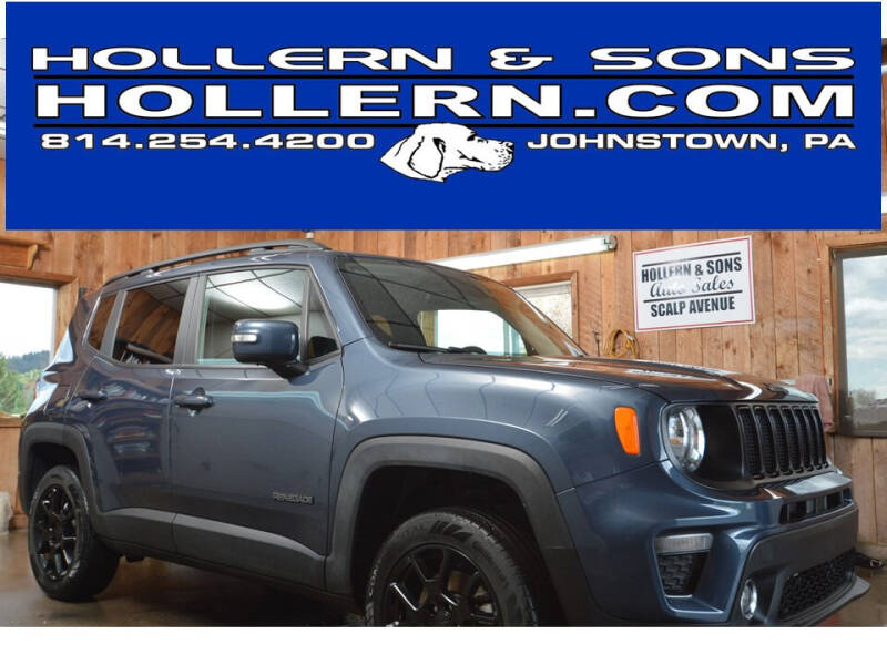 2019 Jeep Renegade for sale at Hollern & Sons Auto Sales in Johnstown PA
