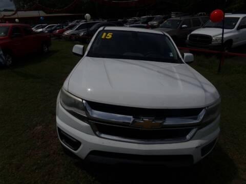 2015 Chevrolet Colorado for sale at Alabama Auto Sales in Semmes AL