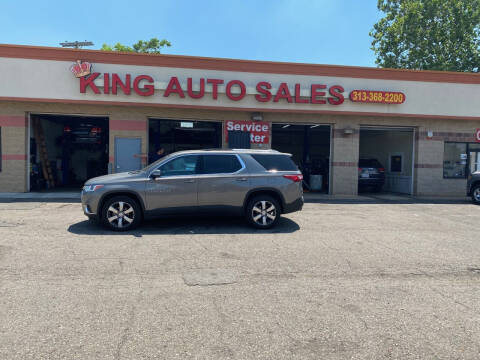 2018 Chevrolet Traverse for sale at KING AUTO SALES  II in Detroit MI