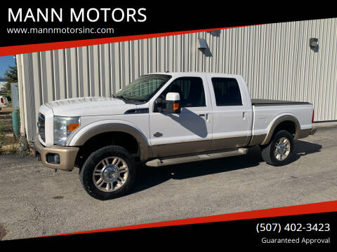 2011 Ford F-250 Super Duty for sale at MANN MOTORS in Albert Lea MN