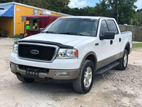 2004 Ford F-150 for sale at Preferable Auto LLC in Houston TX