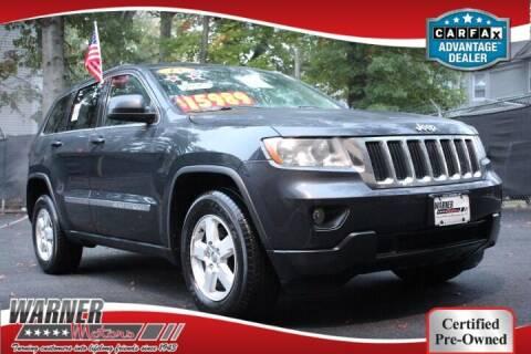 2013 Jeep Grand Cherokee for sale at Warner Motors in East Orange NJ